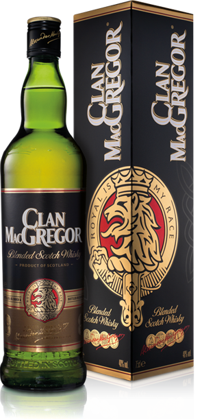 Clan Macgregor Scotch Blended 1.75L