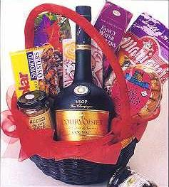 Cognac Lovers Gift Basket