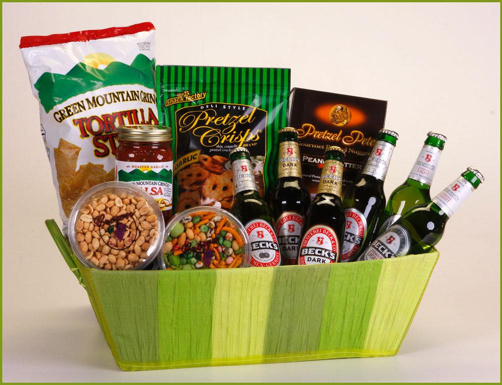 Six-Beck Beer Gift Basket