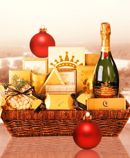 New Year Resolution Gift Basket