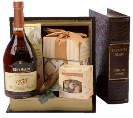 Remy 1738 Accord Cognac Gift Basket