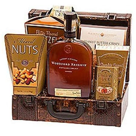 Woodford Reserve Kentucky Bourbon Gift Basket